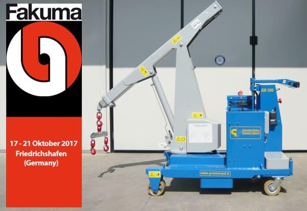 Mobile crane GB 500 TR Gruniverpal