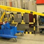 Electric crane for handling molds in the tire production sector - GB 100