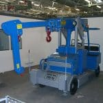 Additional boom can be installed on any hydraulic or manual control crane