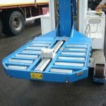 Tilting table with payload of up to 25t.