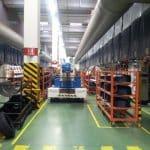 Electric crane pneumatic molds Minidrel 125B_TRS