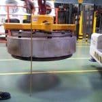 Gru elettrica stampi pneumatici Minidrel 125B_TRS