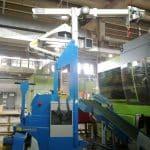 Grúa eléctrica usada con capacidad hasta 2.000 kg.