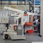 Elektrische hijskranen voor het heffen van ladingen tot 2.000 kg
