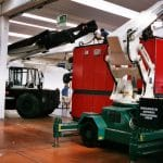 Mobile cranes for lifting loads up to 25.000 kg.