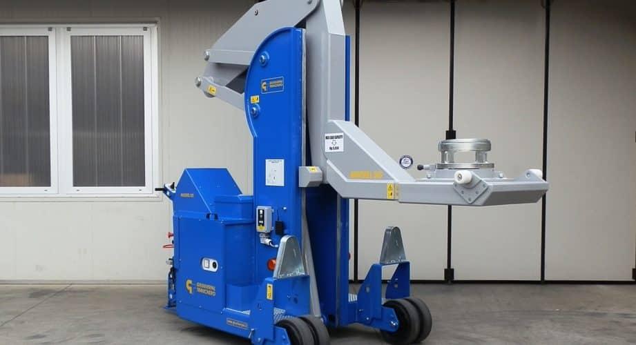 Gru elettrica stampi pneumatici Minidrel 50S_HG