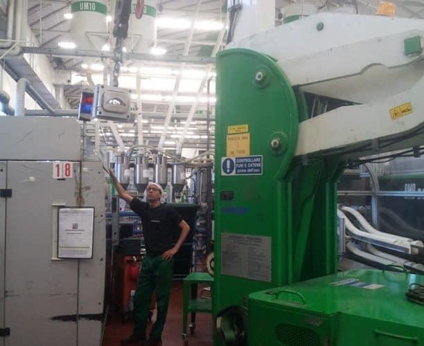 Elektrische hijskranen voor het heffen van ladingen tot 7.500 kg.
