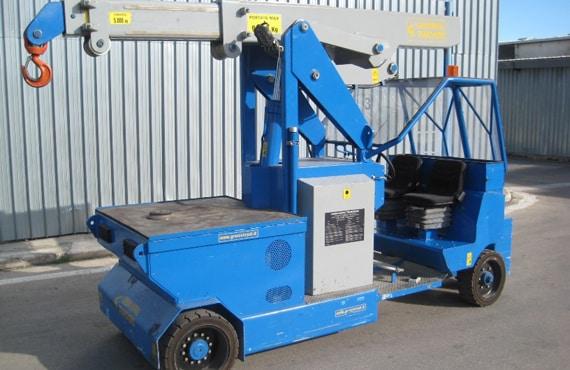 Mini grue électrique pour la production de pneumatiques Minidrel 90B_MSR