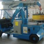 Electric crane for handling molds in the tire production sector Minidrel 90B_MSR