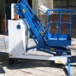 Zelfrijdende elektrische kraan PEL 200