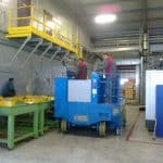 Mold lifting machine with capacity up to 30.000 kg