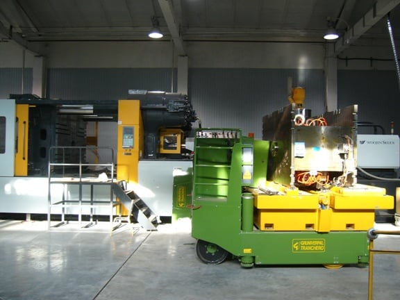 Mold lifting machine with capacity up to 35.000 kg