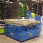 Cranes for presses with clamping forces up to 50.000 kg.