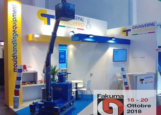 GT cranes at Fakuma show